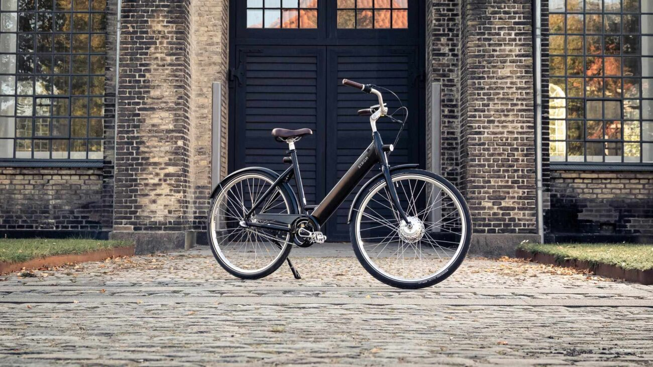 Stroem City W Ebike Black