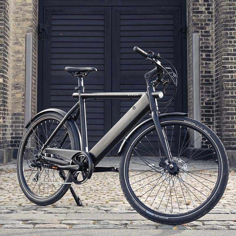 Stroem City M Ebike black