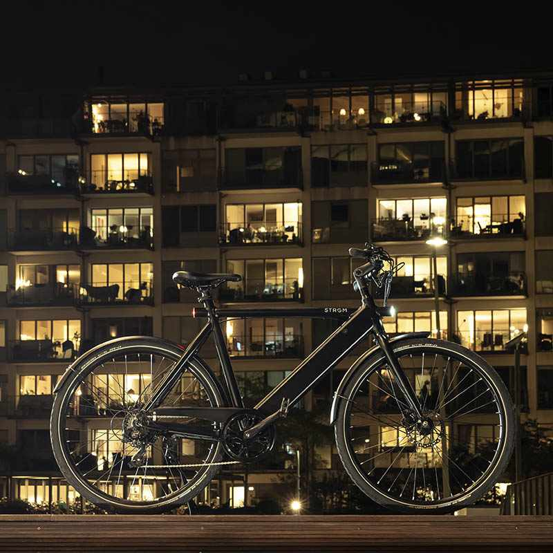 Stroem City M Ebike black3