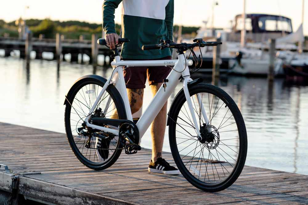 Stroem City Ebike White M