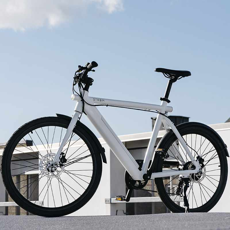 Stroem City M Ebike White2