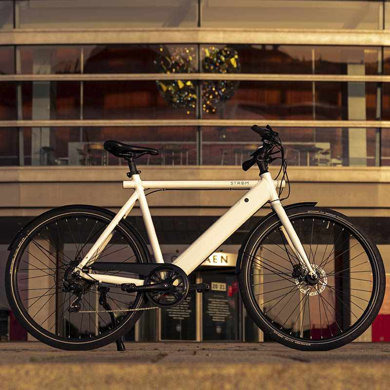 Stroem City M Ebike White