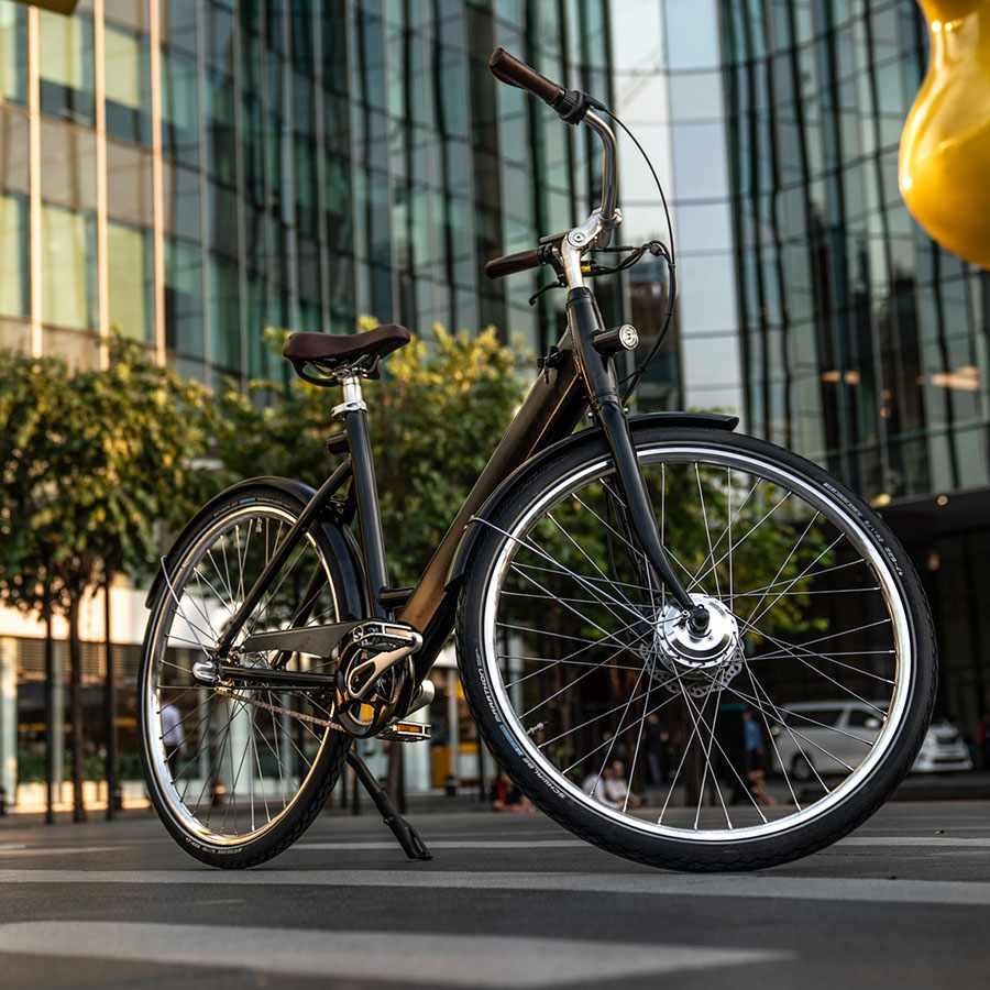 Stroem City bike W Bangkok Black