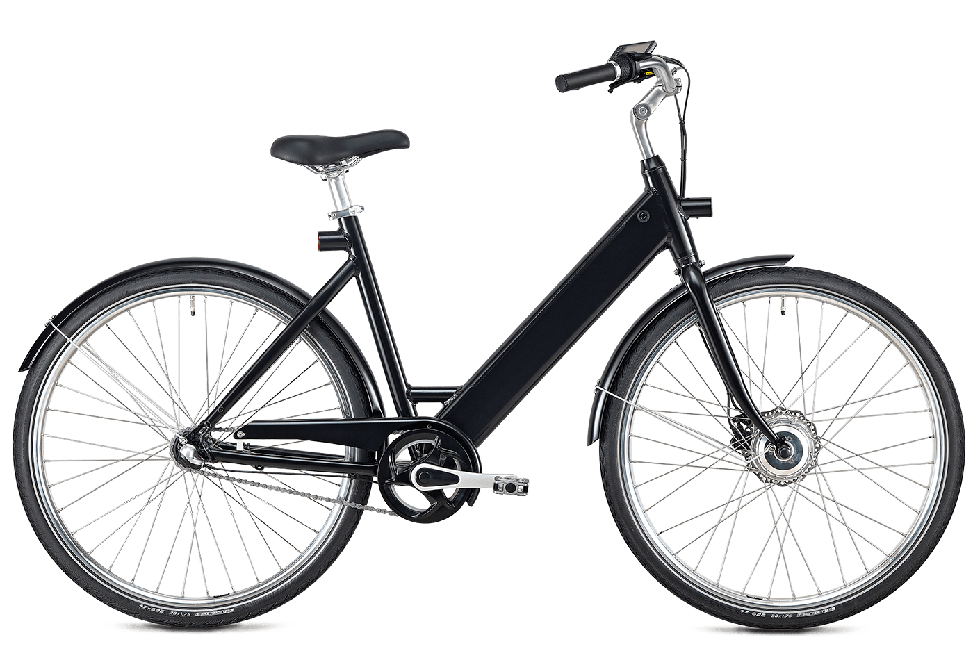 STROEM Sort Elcykel Women Bike
