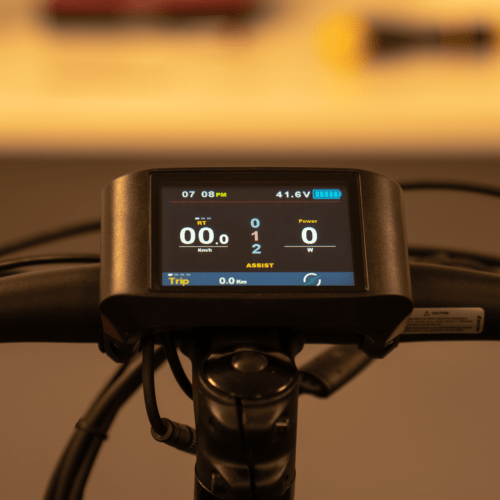 Color display ebike Stroem