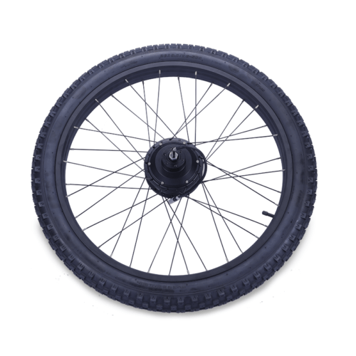 Rear wheel with motor Fatbike STRØM