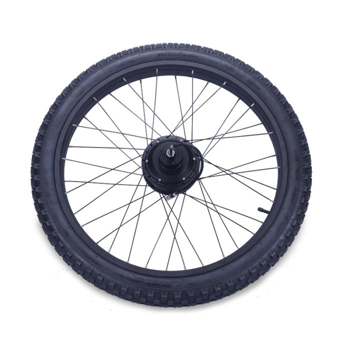 Rear wheel with motor Fatbike STRØM