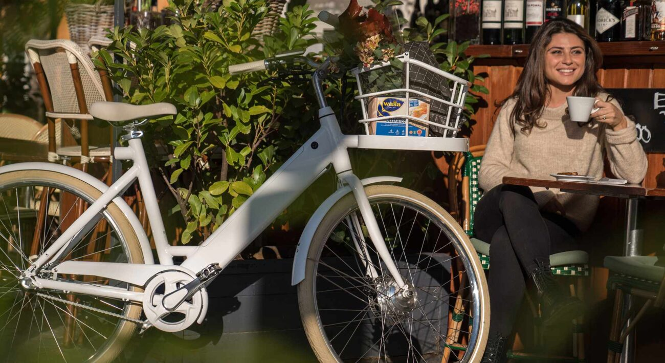 Shopping basket Stroem ebike City W