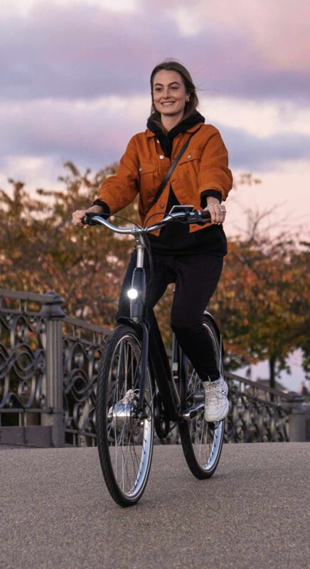 Stroem Ebike Danish Design City Bike Women1