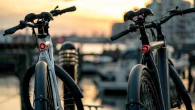 Stroem Ebikes by waterfront
