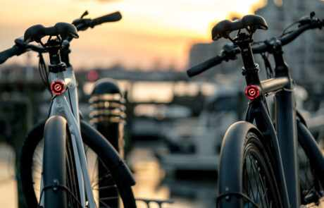 ebike-by-water-front