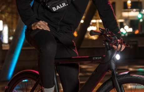 Stroem Ebike Danish design city bike M night