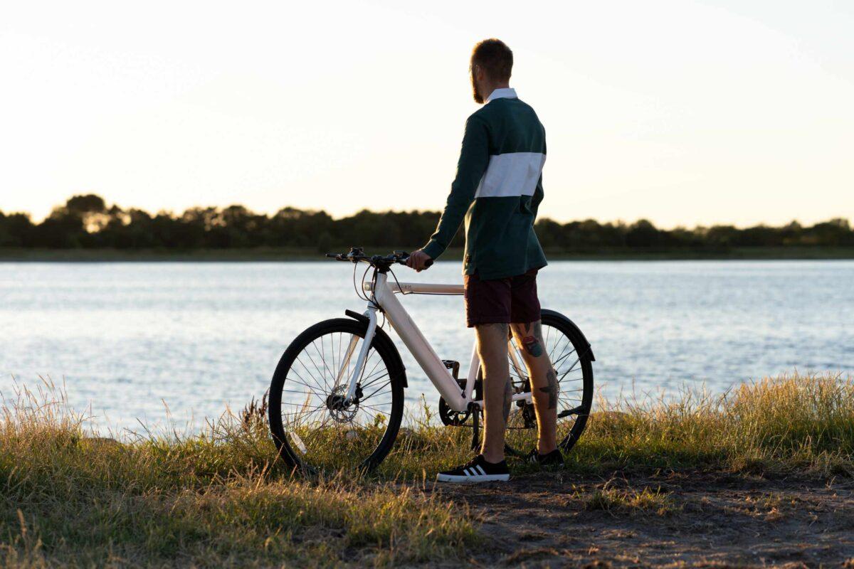 stroem bikes white nature ebike trip